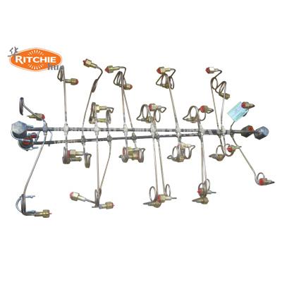 16组气瓶铜制汇流排