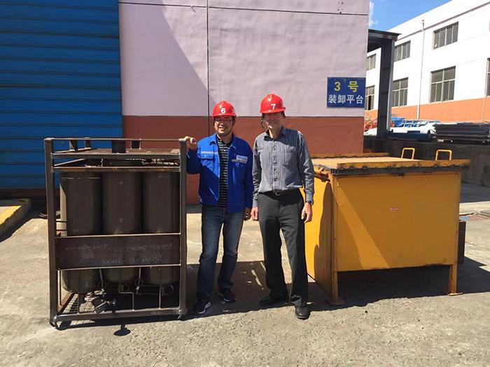 海上危險品運輸(IMDG)氣瓶集裝格