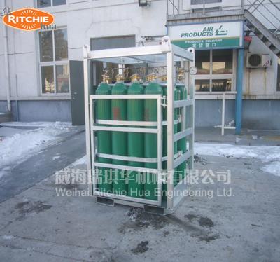 16组气瓶集装格
